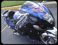 Street-EFX  Spectra Chrome Custom Painted and Airbrushed Motorcycles